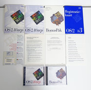 New-&-sealed-IBM-OS-2-Warp-version-3-Dutch-CD-ROM-PC-operating-system-NOS-vintage-retro-90s