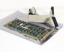 IBM-1503968-floppy-disk-drive-FDD-interface-8-bit-ISA-adaptor-card-controller-w--cable-5150-5160-PC-XT-DOS-vintage-retro-80s
