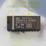 IBM-PC-5150-cassette-BASIC-U32-ROM-AMI-S68B364-6359113-24-pin-DIP-chip-vintage-retro-80s