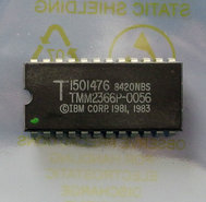IBM-PC-5150-1982-BIOS-U33-ROM-1501476-TMM2366P-0056-24-pin-DIP-chip-vintage-retro-80s