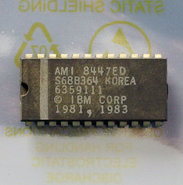 IBM-PC-5150-cassette-BASIC-U30-ROM-AMI-S68B364-6359111-24-pin-DIP-chip-vintage-retro-80s