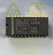 IBM-PC-5150-cassette-BASIC-U31-ROM-AMI-S68B364-6359112-24-pin-DIP-chip-vintage-retro-80s