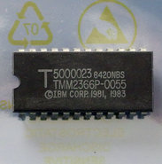 IBM-PC-5150-cassette-BASIC-C1.10-U32-ROM-5000023-TMM2366P-0055-24-pin-DIP-chip-vintage-retro-80s