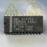 IBM-PC-5150-1982-BIOS-U33-ROM-1501476-AMI-S68B364-24-pin-DIP-chip-vintage-retro-80s