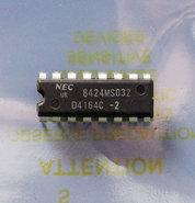 NEC-D4164C-2-64Kx1-8KB-200ns-16-pin-DIP-RAM-DRAM-memory-chip-vintage-retro-80s