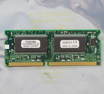 Toshiba-THLY6480H1FG-80-64MB-PC100-CL2-144-pin-SO-DIMM-SDRAM-memory-module