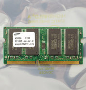 Samsung-M464S1724CT2-L7A-128MB-PC133-CL3-144-pin-SO-DIMM-SDRAM-memory-module