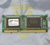 Samsung-KMM966G256BQN-G0-IBM-FRU-01K1185-2MB-100MHz-144-pin-SO-DIMM-SGRAM-memory-module-vintage-retro-90s