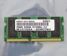 Infineon-256MB-PC100-CL2-144-pin-SO-DIMM-SDRAM-memory-module