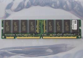 HP-1818-8149-Hyundai-GMM2649233ETG-75-64MB-PC133-CL3-168-pin-DIMM-SDRAM-memory-module