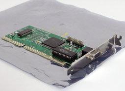 Boca-SuperX-VGA-Cirrus-Logic-CL-GD5424-video-16-bit-ISA-PC-card-adapter-DOS-Windows-3.x-386-486-90s