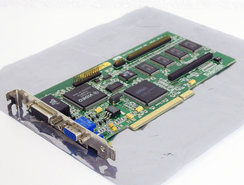 Matrox-MGA-Millennium-MGA-MIL-4BN-4MB-VGA-graphics-video-PCI-PC-card-adapter-Pentium-Windows-95-vintage-retro-90s