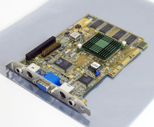 Asus-AGP-V2740TV-Intel-740-VGA-TV-out-in-composite-out-in-graphics-video-AGP-PC-card-adapter-rare-vintage-retro-90s