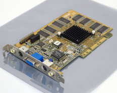 Asus-AGP-V3400TNT-TV-16M-SDRAM-NVIDIA-Riva-TNT-16MB-VGA-TV-out-in-composite-out-in-graphics-video-AGP-PC-card-adapter-vintage-retro-90s