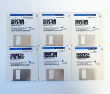Symantec-The-Norton-Utilities-version-6.01-+-The-Norton-Commander-3.0-English-3.5-disk-PC-DOS-vintage-retro-90s
