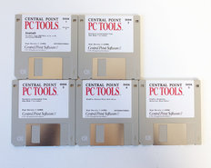 Central-Point-Software-PC-Tools-version-8-3.5-disk-data-recovery-desktop-manager-hard-disk-backup-program-DOS-vintage-retro-80s
