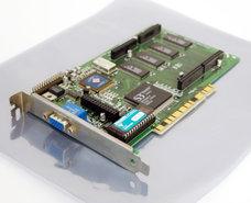 Diamond-Stealth-64-Video-VRAM-S3-Vision968-2MB-VGA-graphics-PCI-PC-card-adapter-Pentium-Windows-3.1-vintage-retro-90s