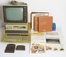 HP-86B-set-w--HP-9121S-disk-drive-+-HP-82913A-monitor-+-more-Hewlett-Packard-vintage-retro-80s