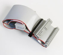 3.5-&-5.25-PC-floppy-disk-drive-34-pin-internal-flat-ribbon-twisted-cable-35cm-w--card-edge-connector-FDD-3.5-5.25-inch-vintage-DOS