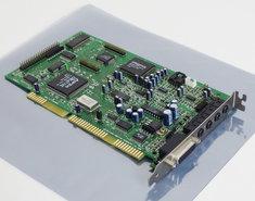 Creative-CT4380-Sound-Blaster-AWE64-Value-audio-CD-ROM-controller-16-bit-ISA-PC-card-486-Pentium-DOS-Windows-vintage-retro-90s