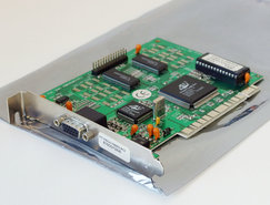 Spea-V7-Vega-Video-PCI-615CD72835-Avance-Logic-ALG2302-1MB-VGA-graphics-PC-card-adapter-Pentium-Windows-3.1-95-vintage-retro-90s