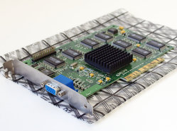 Creative-CT6750-3D-Blaster-Banshee-3DFX-Voodoo-16MB-VGA-graphics-video-AGP-PC-card-adapter-Glide-Pentium-Windows-95-vintage-retro-90s