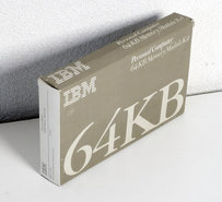 IBM-1501003-64KB-memory-module-kit-1501989-OKI-M3764-20RS-64Kx1-8KB-200ns-16-pin-DIP-RAM-DRAM-chip-vintage-retro-80s