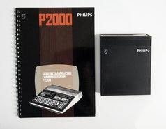 Philips-P2000T-P2304-Familiegeheugen-cartridge-vintage-retro-80s