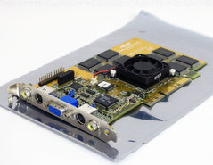 Asus-AGP-V3400TNT-16MB-SGRAM-NVIDIA-Riva-TNT-VGA-TV-out-in-composite-out-in-graphics-video-AGP-PC-card-adapter-vintage-retro-90s-#2