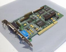 Matrox-Mystique-220-MY220P-4BI-20-4MB-VGA-graphics-video-PCI-PC-card-adapter-Pentium-Windows-95-vintage-retro-90s