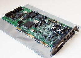 Creative-CT1770-Sound-Blaster-16-audio-SCSI-CD-ROM-controller-16-bit-ISA-PC-card-OPL3-286-386-486-Pentium-DOS-Windows-vintage-retro-90s